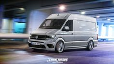 8 Weirdly Cool Sporty Vans That Don't Exist But Should - Car Art