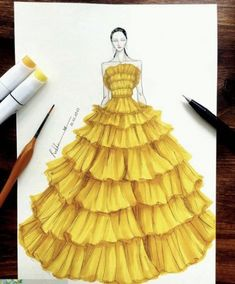 45 Ideas fashion drawing vogue dresses Source by pwaterssmitham idea drawing Source by KamilleFashion idea drawing Dress Design Sketches, Fashion Design Sketchbook, Fashion Design Drawings, Fashion Sketches, Drawing Sketches, Drawing Ideas, Drawing Drawing, Dress Illustration, Fashion Illustration Dresses