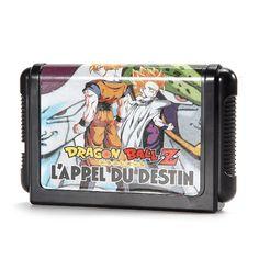 Dragon ball game cartridge tarjeta de juego de 16 bits para sega megadrive genesis pal ntsc system