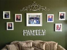 Family Picture Wall