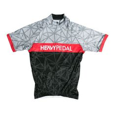 Retrograde Jersey from Heavy Pedal. Our cycling kits are great looking and well made. We use quality materials and our customers keep coming back for the trusted look and feel.