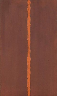 Барнетт Ньюмен «Onement I», 1948 МАТЕРИАЛЫ: холст, масло НАПРАВЛЕНИЕ: абстрактный экспрессионизм Первую абстрактную работу с вертикальной полосой сделала российская художница Ольга Розанова — в 1918 году была создана её «Зелёная полоса». Однако она была неизвестна большинству западных специалистов, поэтому подобные работы прославили американского абстракциониста Барнетта Ньюмена. Он, как и Розанова, пошёл дальше Малевича и создал работу, у которой нет границ, — картина как бы является…