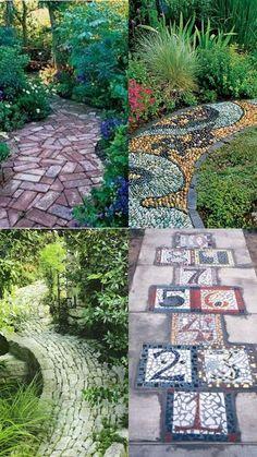 cool A Whole Bunch Of Beautiful & Enchanting GardenPaths - Style Estate - #garden #...