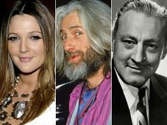 Drew Barrymore, father John Drew Barrymore and grandfather John Barrymore