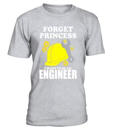 "# Forget Princess I want to be an Engineer Shirt Industrial . Special Offer, not available in shops Comes in a variety of styles and colours Buy yours now before it is too late! Secured payment via Visa / Mastercard / Amex / PayPal How to place an order Choose the model from the drop-down menu Click on ""Buy it now"" Choose the size and the quantity Add your delivery address and bank details And that's it! Tags: Show your true interest in becoming an engineer and wear this shirt wherever you…"