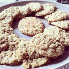 Cookie aux flocons d'avoine, recette complète sur le site de la Vegan Box :)