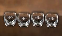 Scotch or Bourbon Roly Poly Glasses for di AgapeDesignMfg su Etsy