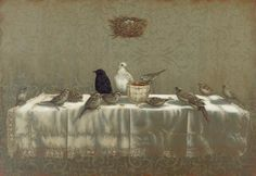 Last Supper • Giclee... love this from David Arms.  His work is so symbolic.  Want this for my dining room.
