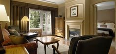 the Fairmont Chateau Whislter accommodations, Guestroom, Fairmont Hotels, Whistler, Canada