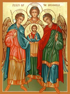 NOVENA : FEAST OF THE ANGELS - ST. MICHAEL - GABRIEL - RAPHAEL - DAY 3  JESUSCARITASEST.ORG