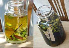 Pickles, Cucumber, Vodka, Mason Jars, Mason Jar, Pickle, Zucchini, Pickling, Glass Jars