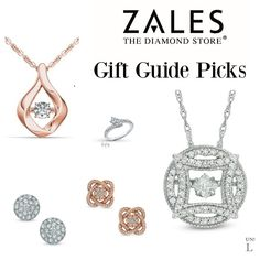 Holiday Gift Guide Picks From Zales ZalesWishList Ad Hostess Gifts Christmas