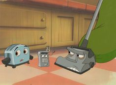 The Brave Little Toaster- I watched this over and over again on the Disney Channel when I was growing up. Disney Animated Movies, Cartoon Movies, 90s Childhood, Childhood Memories, Brave Little Toaster, Disney Animation, Animation Movies, Disney Channel Shows, Heart For Kids
