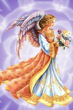 Pretty angel image.