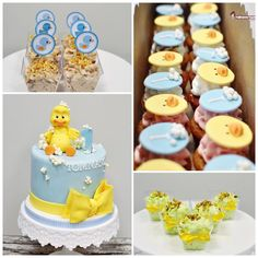 Rubber duck 1st birthday - Cake by Naike Lanza