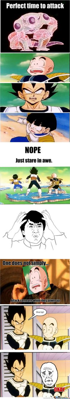 I Love DBZ but this does get to me.....