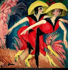 Dancers in Red - Ernst Ludwig Kirchner.Professional Artist is the foremost business magazine for visual artists. Visit ProfessionalArtistMag.com.