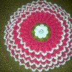 Tığ işi lahana lif örneği  #crochet #knit #knitting