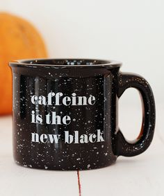Caffeine Is The New Black