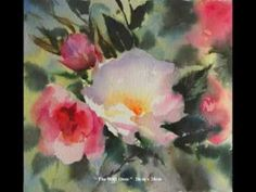 Painting lessons - Trevor Waugh's Watercolour Flowers 2
