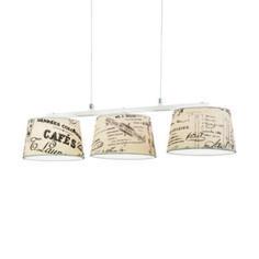 Lampa wisząca potrójna Evergreen Lights Café Night