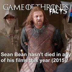 Valar Dohaeris, Valar Morghulis, Game Of Thrones Facts, Sean Bean, Songs, Film, Movies, Movie Posters, Movie