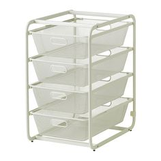 ALGOT Frame with 4 mesh baskets IKEA