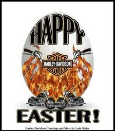 Happy Easter! | Easter | Pinterest | Happy easter, Easter and Harley