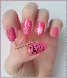 Unghiutze colorate-Happy nails: NOTD & OOTD-Love in Paris