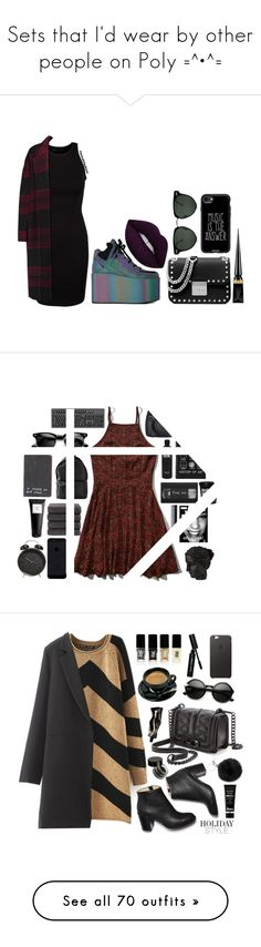 """""""Sets that I'd wear by other people on Poly =^•^="""" by beanpod ❤ liked on Polyvore featuring Y.R.U., Spitfire, MICHAEL Michael Kors, Rochas, Casetify, Christian Louboutin, Abercrombie & Fitch, Ren-Wil, GHD and Christy"""
