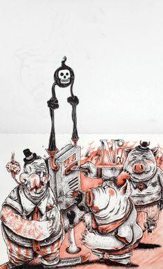 As ilustrações de Marcio Moreno