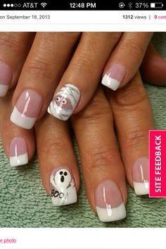 cute halloween gel nails - Google Search