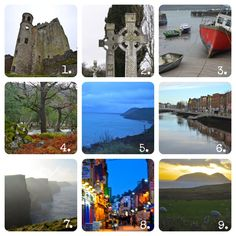 Ireland-Travel-Must See Sites-Blarney Castle-Cliffs of Moher-Dingle Bay-Kilarney National Park-Dublin-Ring of Kerry-Galway City