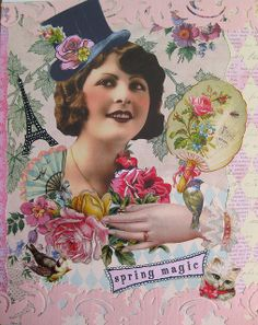 Spring Magic ~ Visual Journal Page | Flickr - Photo Sharing!