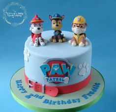 Paw Patrol Cake - Cake by The Clever Little Cupcake Company