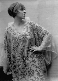 """""""Legendary beauty, screen actress, glittering personality of British high society and notable eccentric Lady Diana (Manners) Cooper, three years before her marriage to Alfred Duff Cooper. Photograph by E.O. Hoppe. London, 1916."""""""