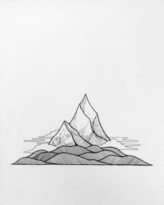 Andy Earl: //Quick Sketch 10// Mind mountains.
