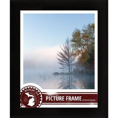 Craig Frames 1Wb3Bk 11 By 17-Inch Picture Frame, Smooth Wrap Finish, 1-Inch Wide