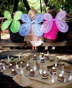 Grace Designs: Woodland Fairy Birthday Tea Party