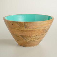 Large Blue Melamine Batter Bowl | World Market