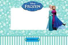 Kit de Elsa y Anna -Frozen- para imprimir gratis | Kits para ...