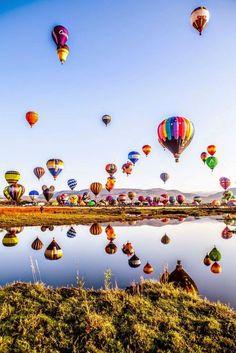 International Balloon Festival in Leon, Guanajuato