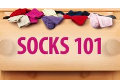 Socks 101:Everything you ever wanted to know about socks. Athletic Socks, Compression Socks, Diabetic-Friendly Socks.