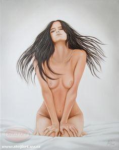 Probuzení, olej, plátno, 50 x 40 cm