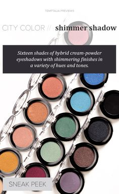 City Color Shimmer Ombres