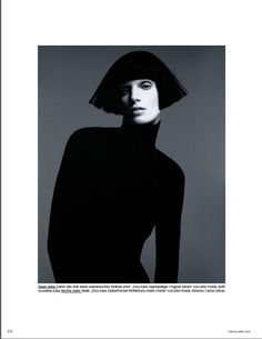 Iris Strubegger by Duella n Henzi - Hairy Tales by Luigi Murenu (Vogue Germany) - pose!