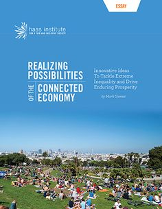 Cover of essay on the Connected Economy