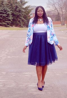 Plus size fashion for women: How to wear a tulle skirt #plussize