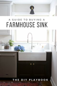 What to Consider When Choosing a Farmhouse Sink + Faucet | The DIY Playbook