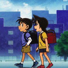 Kudo Shinichi Mouri Ran Ran And Shinichi, Kudo Shinichi, Conan Movie, Detektif Conan, Magic Kaito, Anime Couples Manga, Manga Anime, Heiji Hattori, Kaito Kuroba